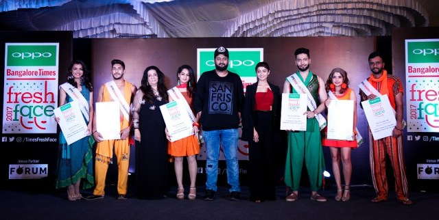 Winners-OPPO-Times-Fresh-Face City-Finale-at-Forum-Mall
