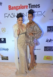 Zoya Afroz & Pria Kataria Puri at at Bangalore Times Fashion week in Bengaluru on 7th October 2017 at JW Marriott_2