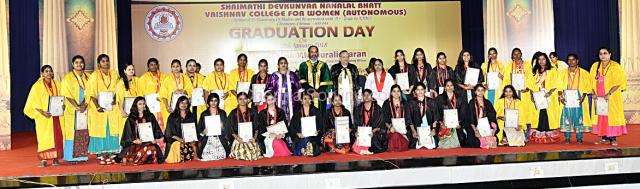 Graduation Day held at SDNB Vaishnav College for Women