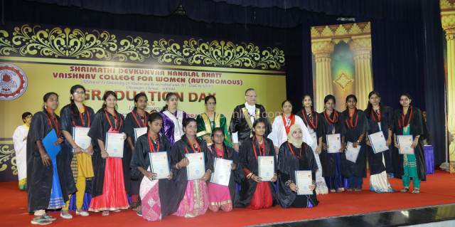 Graduation Day held at SDNB Vaishnav College for Women