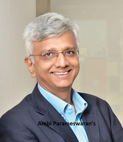 Ambi Parameswaran's latest book - SPONGE: Launch