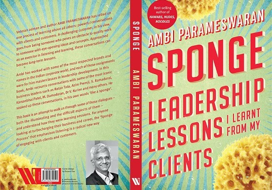Ambi Parameswaran's latest book - SPONGE: Launch