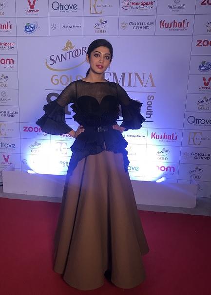 Actress Pranitha Subhash