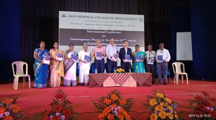 International Conference at Asan Memorial College