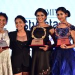 Anupama Gowda with Winners of Femina Stylista South 2020 in Bengaluru
