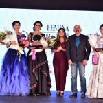 Priyanka Upendra with Winners of Femina Stylista South 2020 in Bengaluru