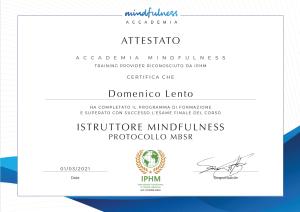qualifica di Istruttore di Mindfulness IPHM