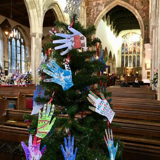 More from the Christmas Tree Festival stthomassalisbury lovesalisbury wiltshire medievalchurchhellip