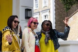 participants on the blogtacular photowalk west