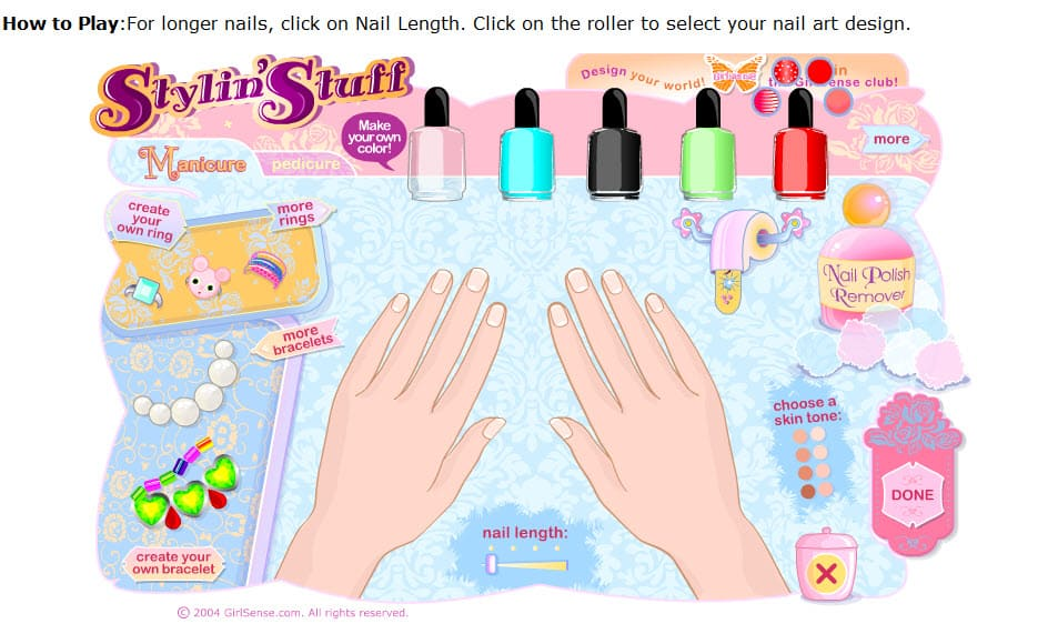 How To Design Nail Games For S