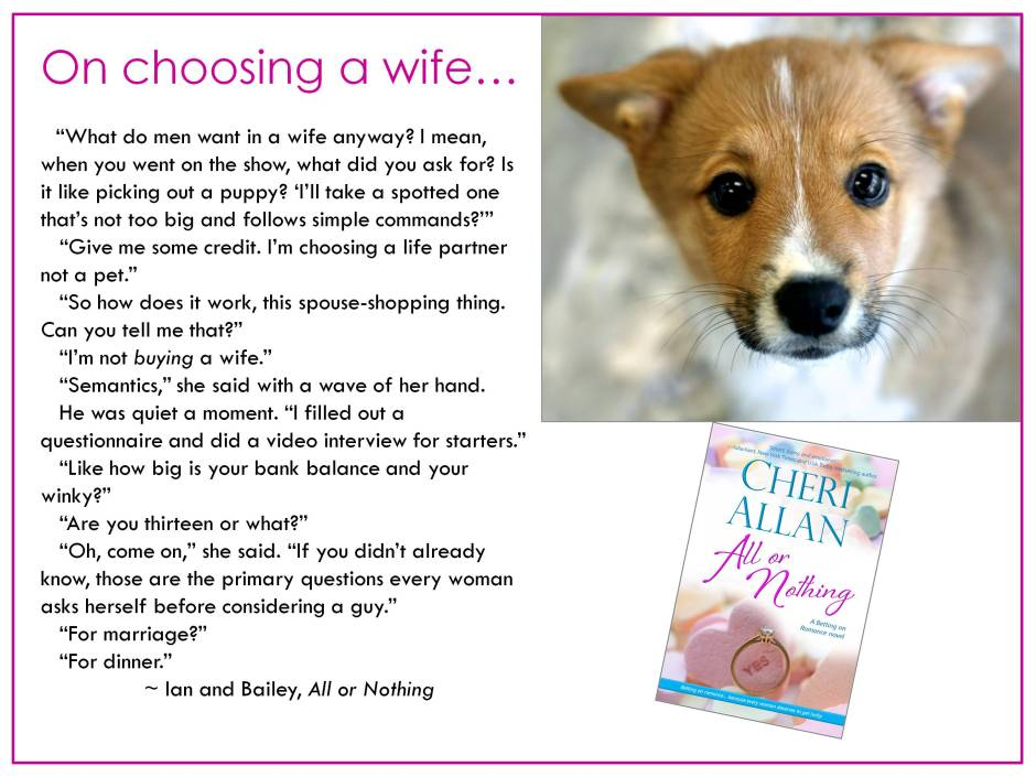 On choosing a wife