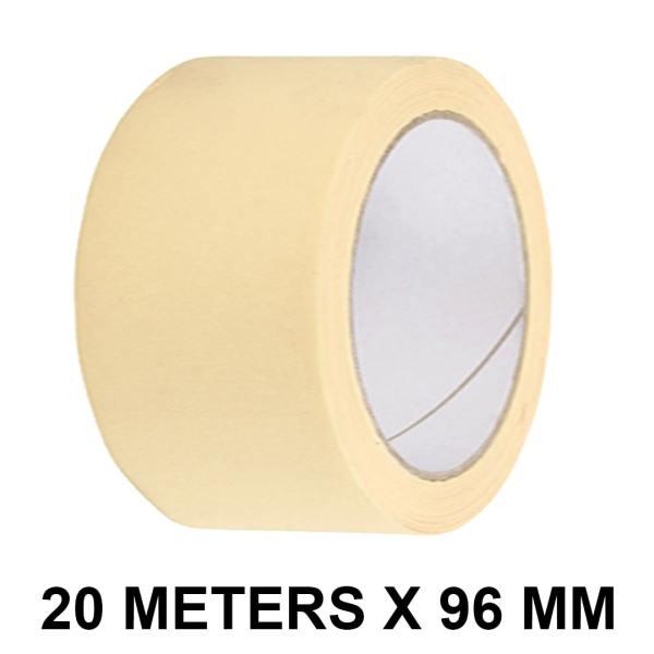Masking Tape – 96mm / 4″ Width – 20 Meters in Length