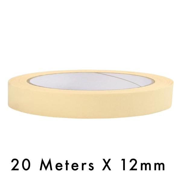 Masking Tape – 12mm / 0.5″ Width – 20 Meters in Length