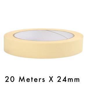 Masking Tape – 24mm / 1″ Width – 20 Meters in Length