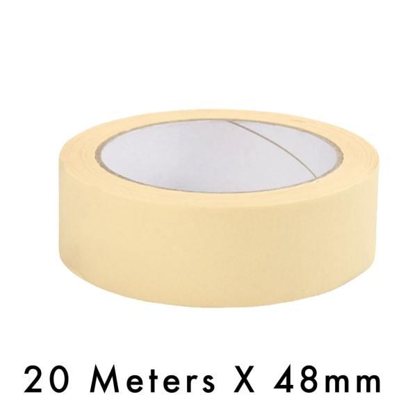 Masking Tape – 48mm / 2″ Width – 20 Meters in Length