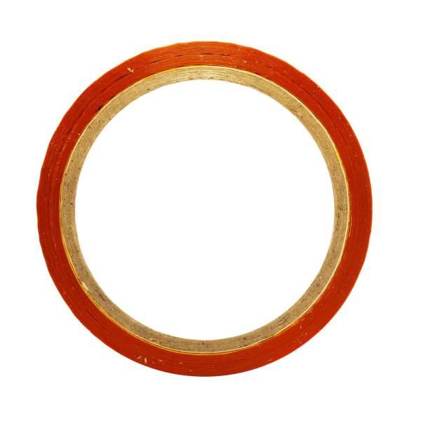 """Orange Color Tape - 12mm / 0.5"""" Width - 50 Meters in Length"""