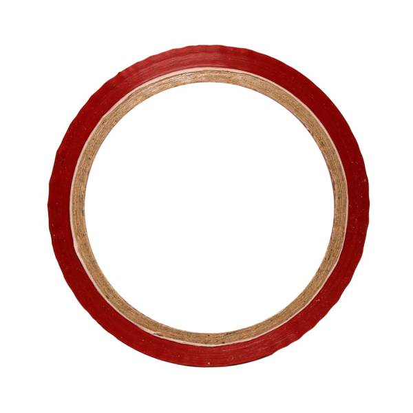 """White Color Tape - 12mm / 0.5"""" Width - 50 Meters in Length"""