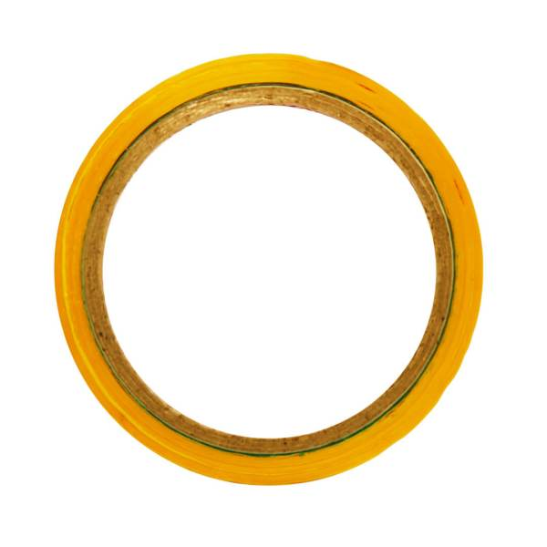 """Yellow Color Tape - 24mm / 1"""" Width - 50 Meters in Length"""