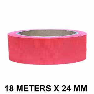 """Red Duct Tape - 24mm / 01"""" Width"""