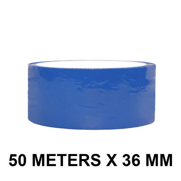 "Blue Color Tape - 36mm / 1.5"" Width"