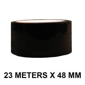"Black Floor Marking Tape - 48mm / 02"" Width"