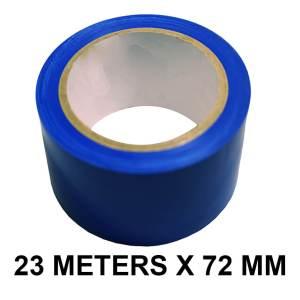 """Blue Floor Marking Tape - 72mm / 03"""" Width"""