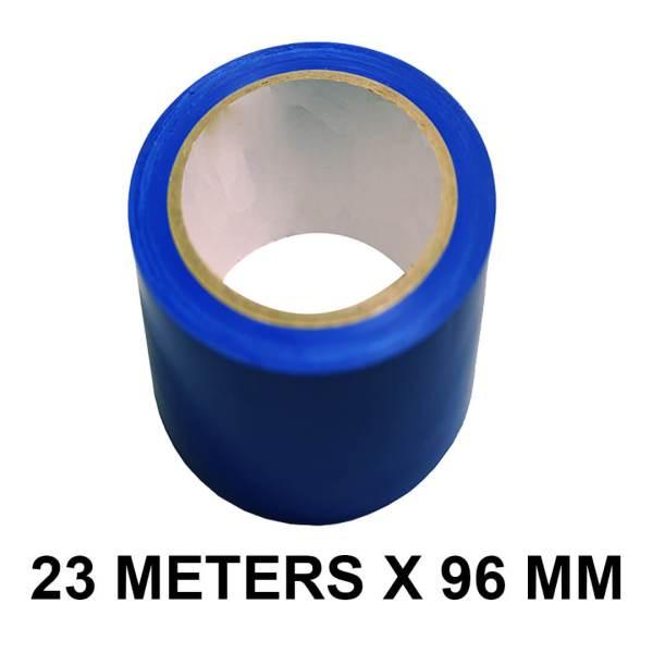 """Blue Floor Marking Tape - 96mm / 04"""" Width"""