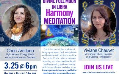 Divine Full Moon in Libra Harmony Meditation