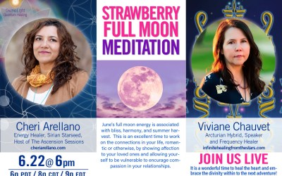 Strawberry Full Moon Bliss Meditation