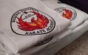 stack of karate gi