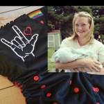 Embroidered ASL Infant Jumper