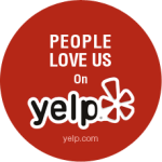 Loved on Yelp badge