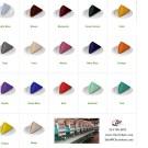 custom napkin color chart