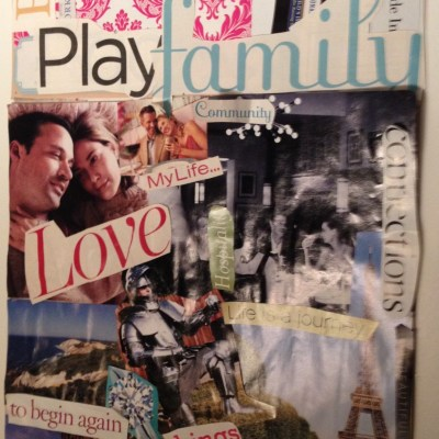 Day 5: Creating A Vision Board