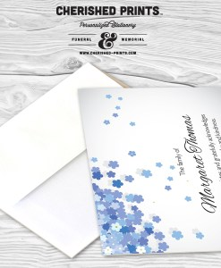 Forget-Me-Not Thank You Card