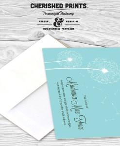 Dandelion Thank You Card