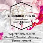 Cherished Prints Design Collection of Funeral Programs, Celebration of Life, and Memorials