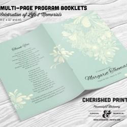 chrysanthemum-multi-page-program-booklet