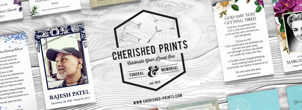 Welcome to Cherished Prints Funeral and Memorial Stationery