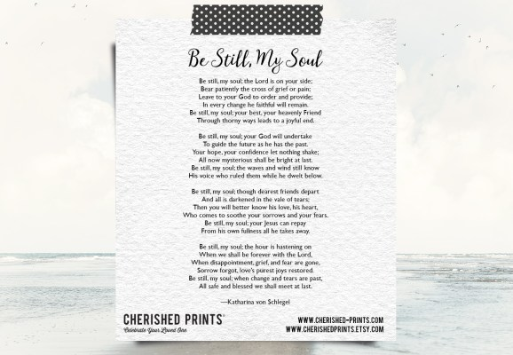 Be Still My Soul by Katharina von Schlegel.jpg