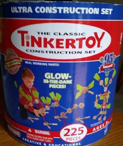 classic tinker toy construction set