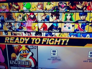 super smash bros Wii game