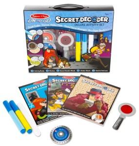 Secret decoder activity sets