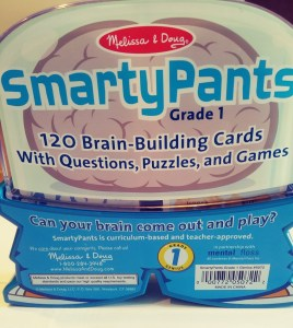 Melissa and Doug Smarty Pants Brain Building Card Sets