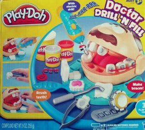 Play Doh Dentist Playset