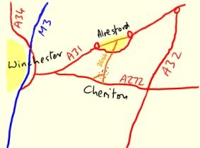 Main Roads to Cheriton