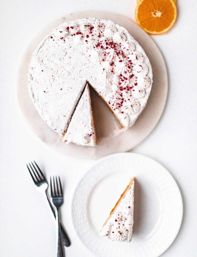 Surprise Orange Cake