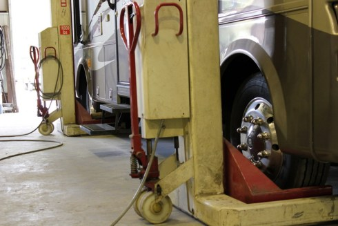 Lift for Charter Buses and Motor Homes