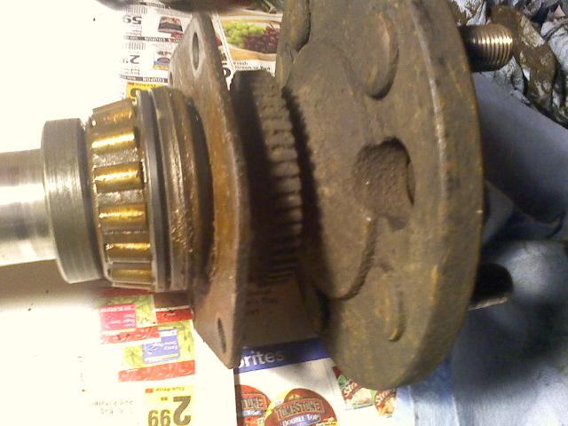 Shop Rear Axle Press Bearing