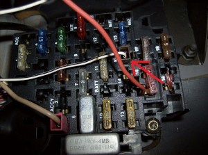IGN Wire in the fuse panel???  Jeep Cherokee Forum